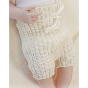 Simply Sweet Shorts by DROPS Design - Baby shorts Strikkeoppskrift str. Prematur - 4 år