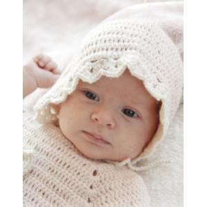 Camille by DROPS Design - Baby Kyse Hekleoppskrift str. 1 mdr - 4 år