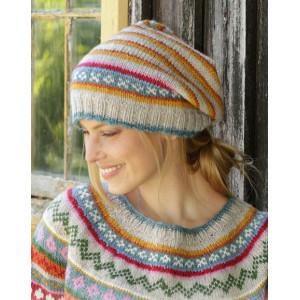 Winter Carnival Hat by DROPS Design - Lue Strikkeoppskrift str. S - XL