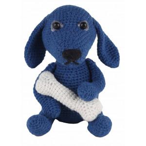 Go Handmade Heklekit Hunden Fido 18 cm