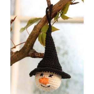 Tabitha by DROPS Design - Halloween Pynt Hekleoppskrift