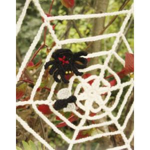 Black Widow by DROPS Design - Halloween Pynt Hekleoppskrift