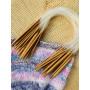 Infinity Hearts Bambus Rundpinnesett 40cm 2-10mm - 15 størrelser