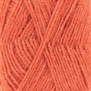 Drops Alpaca Garn Unicolor 2915 Oransje