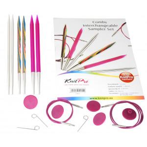 KnitPro Comby 1 Utskiftbare rundpinnesett 60-80 cm 4-6 mm 3 størrelser