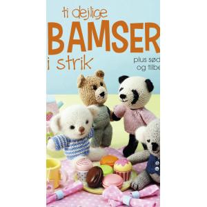 Ti dejlige bamser i strik - Bok av Rachel Borello