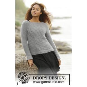 Misty Harbor by DROPS Design - Genser Strikkeoppskrift str. S - XXXL