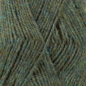 Drops Alpaca Garn Mix 7815 Grøn/Turkis