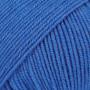 Drops Baby Merino Garn Unicolor 33 Elektrisk Blå