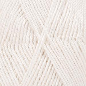 Drops BabyAlpaca Silk Garn Unicolor 1101 Hvit