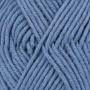 Drops Big Merino Garn Unicolor 07 Jeansblå