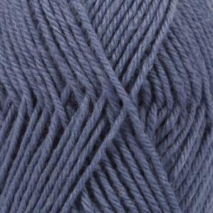 Drops Karisma Garn Unicolor 65 Jeansblå
