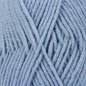 Drops Karisma Garn Unicolor 30 Lys Jeansblå