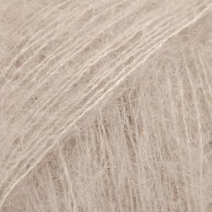 Drops Kid-Silk Garn Unicolor 20 Lys Beige