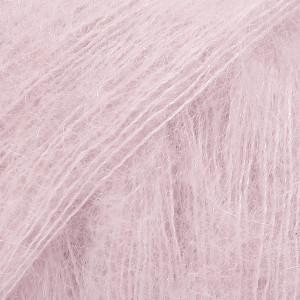Drops Kid-Silk Garn Unicolor 03 Lys Rosa