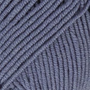 Drops Merino Extra Fine Garn Unicolor 13 Jeansblå