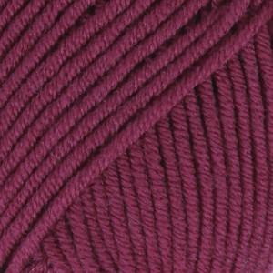 Drops Merino Extra Fine Garn Unicolor 35 Mørk Lyng