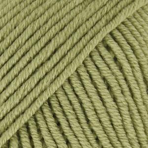 Drops Merino Extra Fine Garn Unicolor 18 Eplegrønn