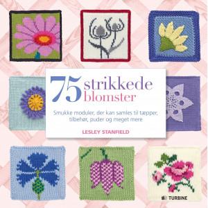 75 strikkede blomster - Bok av Lesley Stanfield