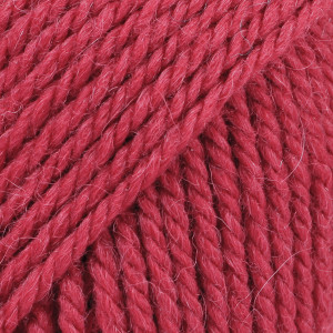 Drops Nepal Garn Unicolor 3608 Dyp Rød