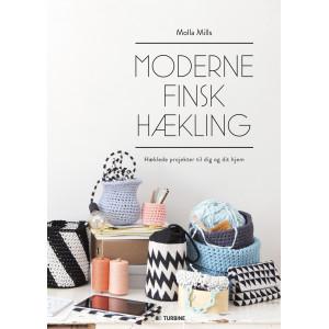 Moderne finsk hækling - Bok av Molla Mills
