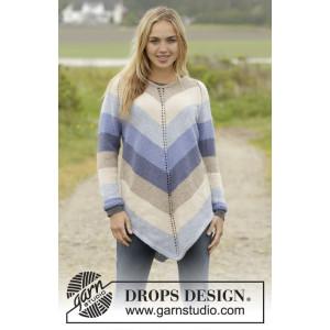 Ocean Stripes by DROPS Design - Tunika Strikkeopskrift str. S - XXXL