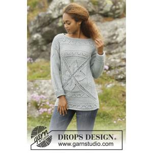 Lucky Charm by DROPS Design - Genser Strikkeopskrift str. S - XXXL