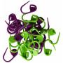 Drops Maskemarkører 30 stk. i grønn og lilla 2 cm