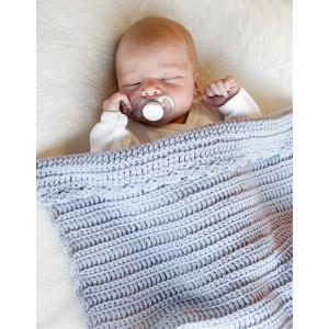 First Year by DROPS Design - Babyteppe Hekleoppskrift 65-80 cm