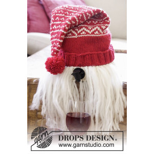 Merrier Christmas by DROPS Design - Vin-nisse Strikkeoppskrift 2-3 L