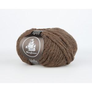 Mayflower Wolly Garn Unicolor 51 Brun