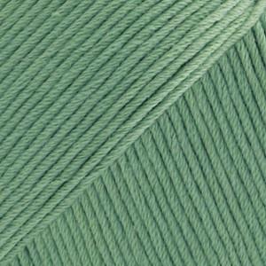Drops Safran Garn Unicolor 04 Grønn