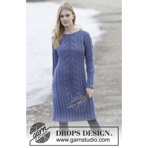 Regal Splendour by DROPS Design - Kjole Strikkeoppskrift str. S - XXXL