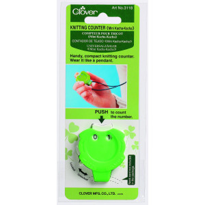 Clover Omgangsteller / Pinneteller Grønn 4,5x4cm