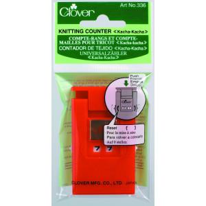 Clover Omgangsteller / Pinneteller Rød 7x4mm - 1 stk