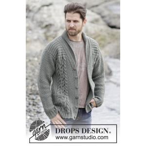 Finnley by DROPS Design - Jakke Strikkeopskrift str. S - XXXL