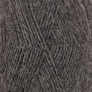 Drops Flora Garn Mix 05 Mørkegrå