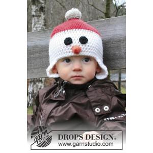 Carrot Nose by DROPS Design - Lue Hekleopskrift str. 6/9 mdr - 9/10 år