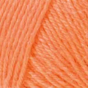 Järbo Miniraggi Garn Unicolor 68203 Oransje