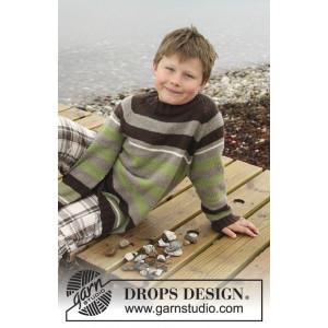Sticks and Stones by DROPS Design - Genser Strikkeoppskrift str. 3 - 14 år