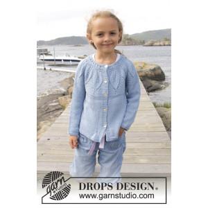 Sweet Bay Jacket by DROPS Design - Jakke Strikkeoppskrift str. 3 - 14 år