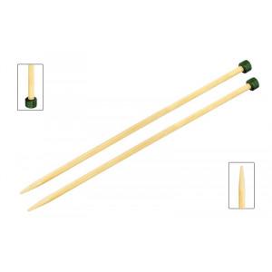KnitPro Bamboo Strikkepinner / Jumperpinner Bambus 30cm 4,00mm / 11.8in US6