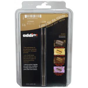 Bilde av Addi Click Turbo Utskiftbare Rundpinner Messing 13cm 4,00mm Us6