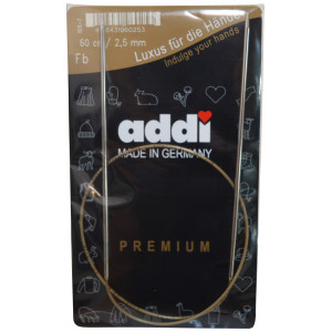Bilde av Addi Turbo Rundpinner Messing 60cm 2,50mm / 23.6in Us1½