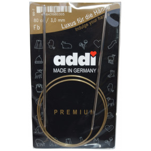 Bilde av Addi Turbo Rundpinner Messing 80cm 3,00mm / 31.5in Us2½