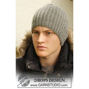 Tristan by DROPS Design - Lue Strikkeoppskrift S - L
