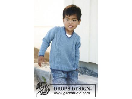 strikkeoppskrift genser barn 3 år