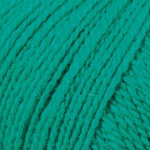Järbo Mellanraggi Garn Unicolor 28205 Jadegrønn
