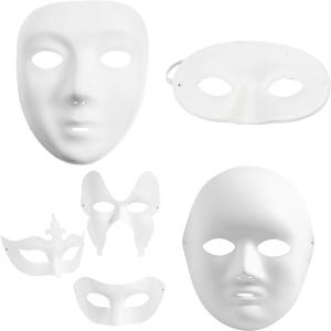 Pappmasker / Plastmasker