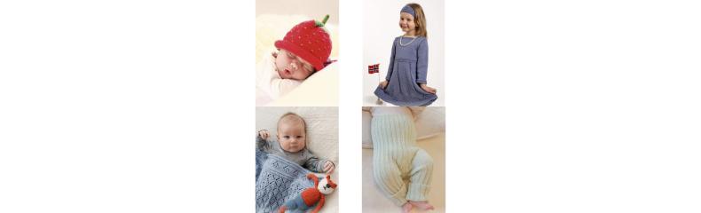 b20393c5 Strikkeoppskrifter til barn - Strikk til barn med populære oppskrifter -  Ritohobby.no